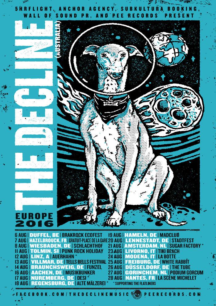 The Decline - Europa Tour